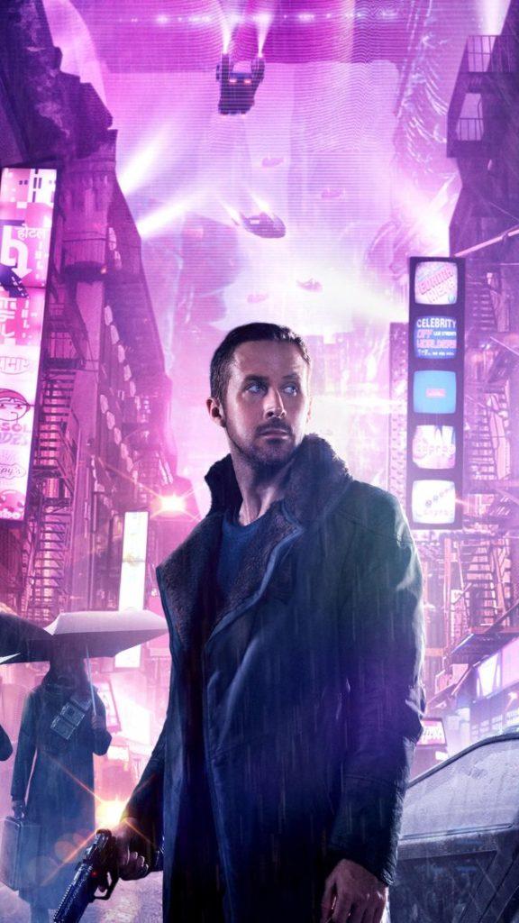 Le détective Cyberpunk à la sauce hollywoodienne. Ici avec l'acteur américain, Ryan Gosling, dans Blade Runner 2019.